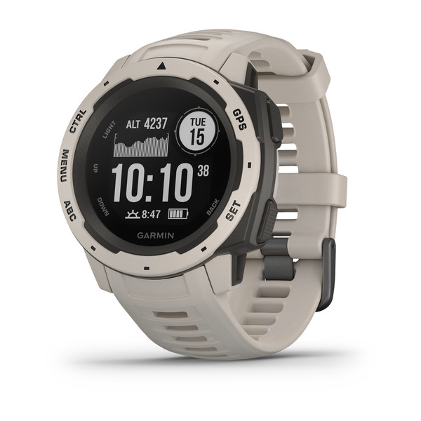 Garmin Instinct Rugged GPS Watch Built to Withstand the Toughest Environments