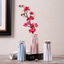 Hoatai Ceramic华达泰陶瓷,现代简约陶瓷花瓶,鲜花仿真花