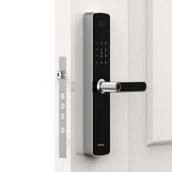 网易智造曜石智能门锁,不锈钢锁体,加密芯片防护