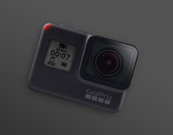 GoPro HERO7 Silver Action Camera with Touch Screen 4K HD Video
