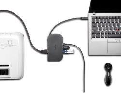 Kensington SD1600P USB-C Travel Dock 4K with Pass-Through USB-C Charging