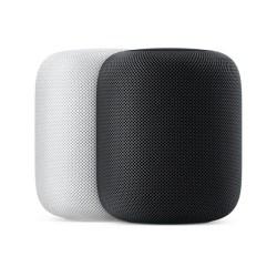 Apple苹果 HomePod 智能音响/音箱,AirPlay无线连接;Siri语音识别