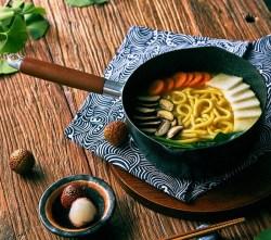 Exquisite Life味之原 HWZY-IH1418XP 日式雪平锅,麦饭石,不粘锅易清洗