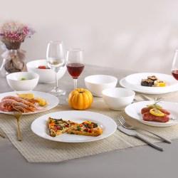 Luminarc乐美雅 时光系列钢化玻璃餐具套装,18件套