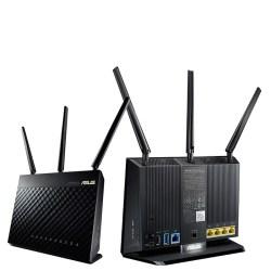 ASUS 华硕 RT-AC68U AC1900M无线双频路由套装,Aimesh套包