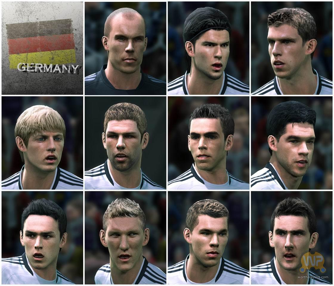 Pes 2010 Demo: The Player Faces Of Pro Evolution Soccer 2010