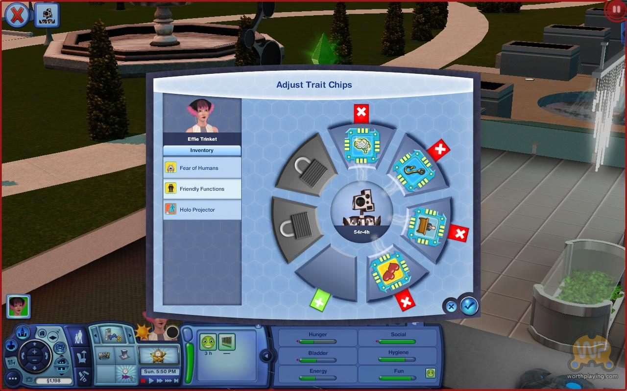 Worthplaying PC Review The Sims 3 Into The Future