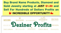 Deziner Profits Review: Buy Brand Product For $1 Then Sell For $100+