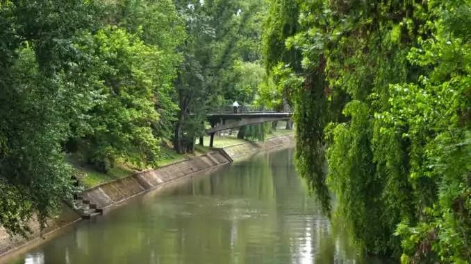 Die Bega fließt durch Timisoara.