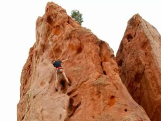 """Klettern im """"Garden of Gods"""" in Colorado"""