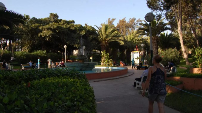 Vogelpark in Agadir