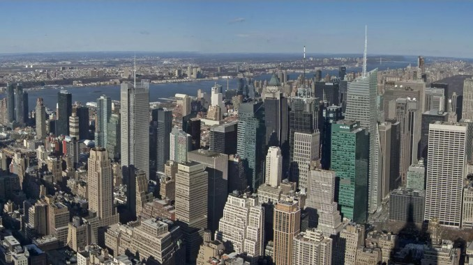 Aussicht Manhattan vom Empire State Building