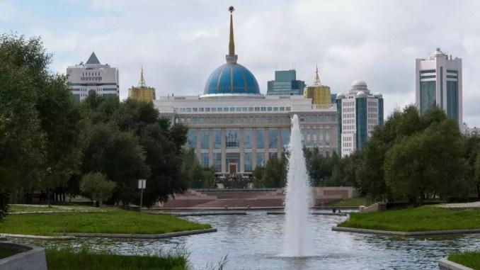 Ak-Orda-Palast in Astana