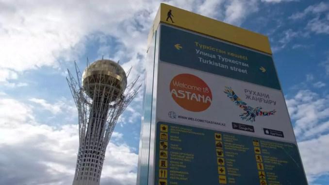 Astana in Kasachstan