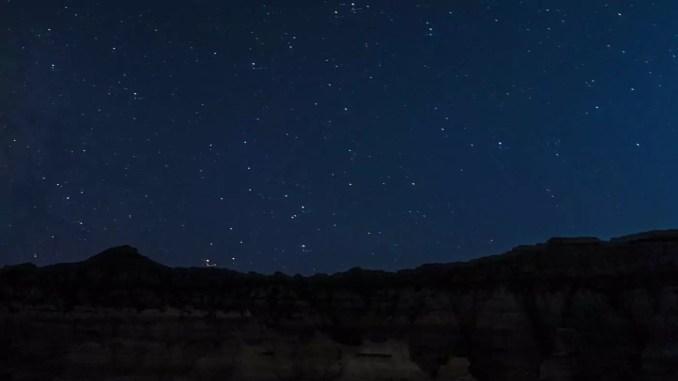 Sternenhimmel in Mangystau