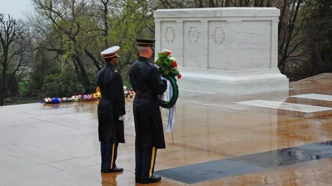Grab des unbekannten Soldaten - Arlington