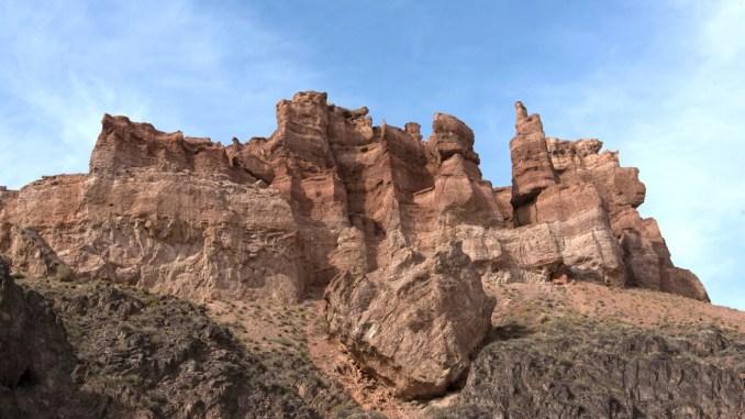 Tal der Burgen / Charyn Canyon