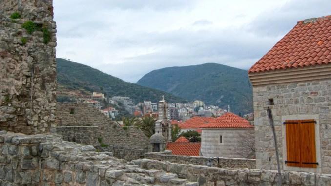 Blick von Stadtmauer