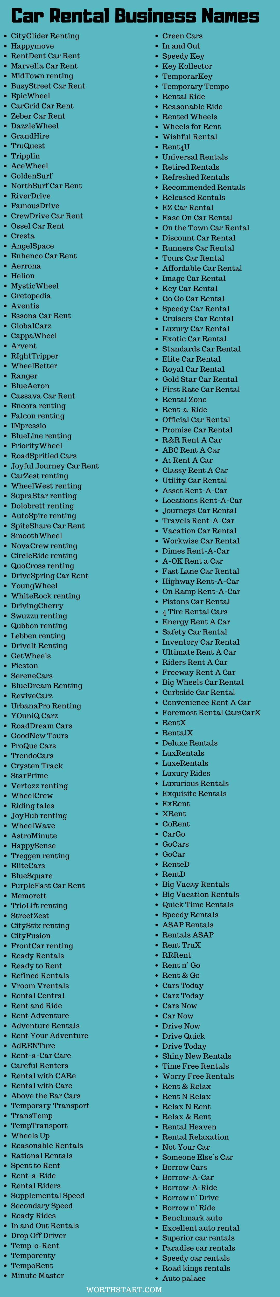 Jeep Name Ideas : ideas, Rental, Company, Names, Ideas, Business