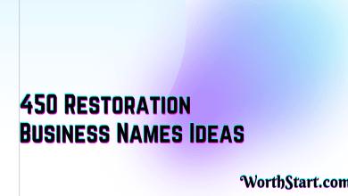 Restoration Business Names Ideas
