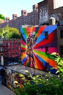 Art from the Highline
