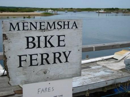Menemsha Bike Ferry