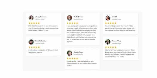 ColonBroom customer reviews