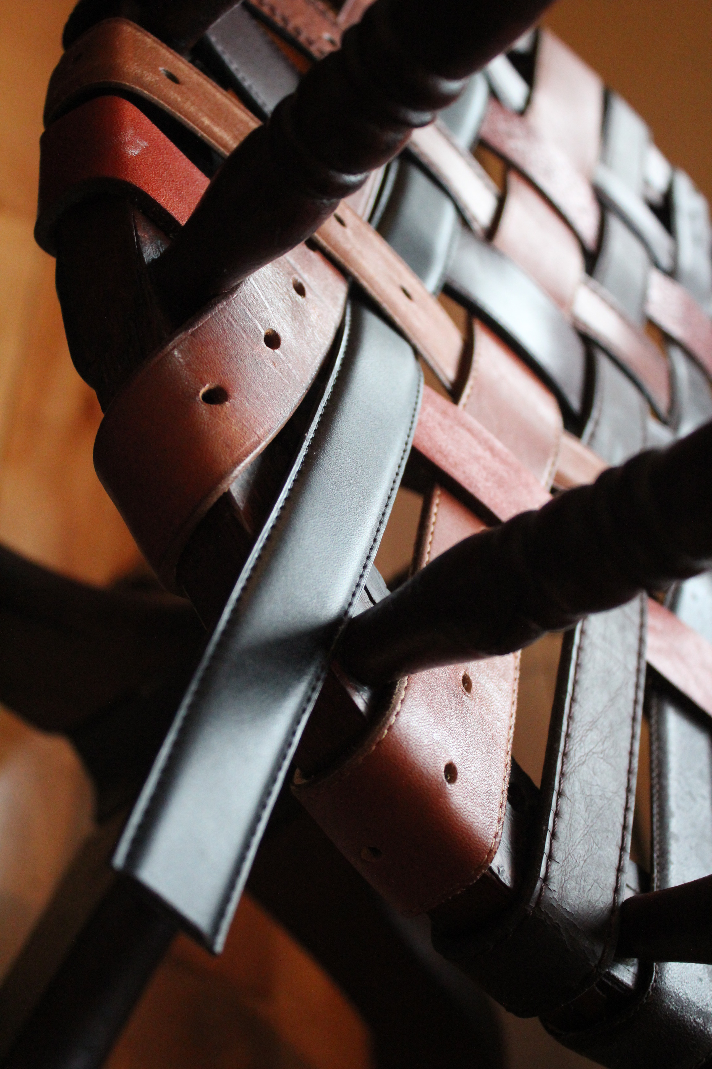 diy leather belt chair bean bag covers for sale quick project replacing a busted cane seat with