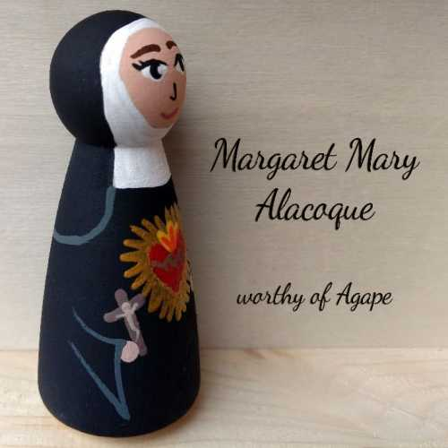 Margaret Mary Alacoque side