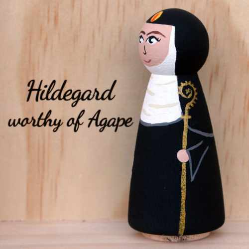 Hildegard staff side