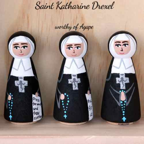Katharine Drexel front options