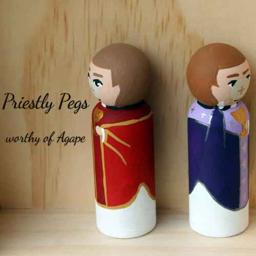 Priestly Pegs host face side back to back