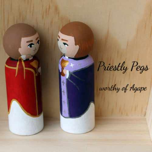 Priestly Pegs host face side