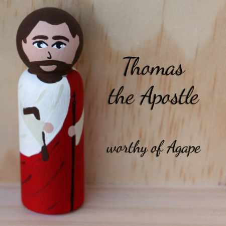 Thomas the Apostle front