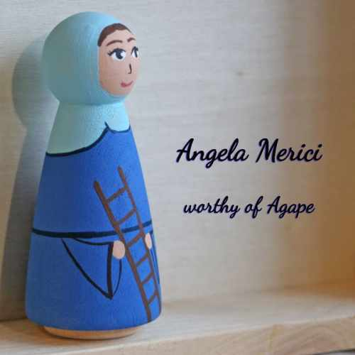 Saint Angela Merici side