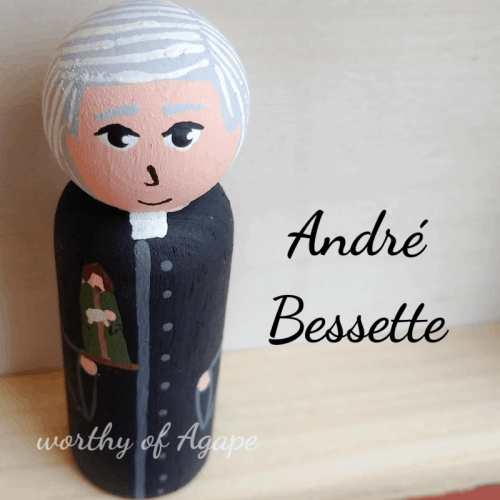 Andre Bessette top view