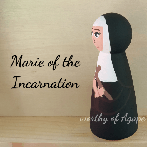 Marie of the Incarnation side 2