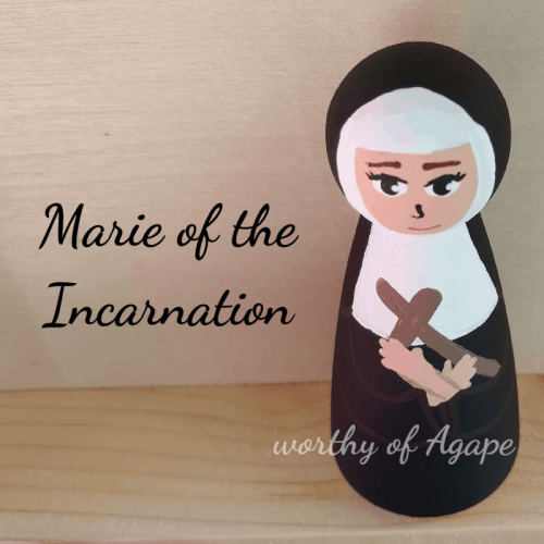 Marie of the Incarnation top