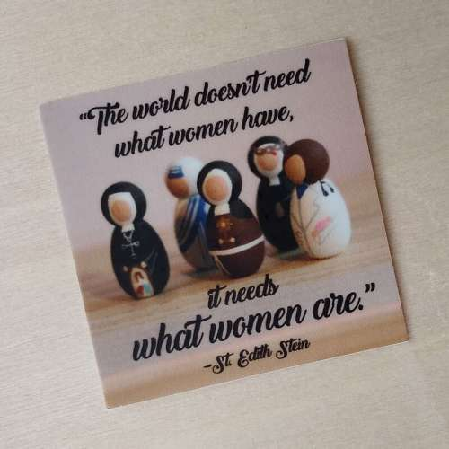 What women are sticker photo