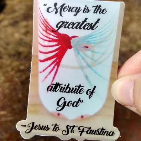 Divine Mercy sticker