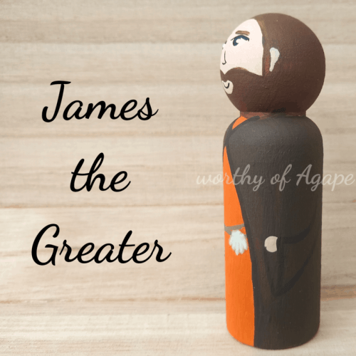 James the Greater shell side
