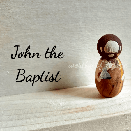 John the Baptist keychain