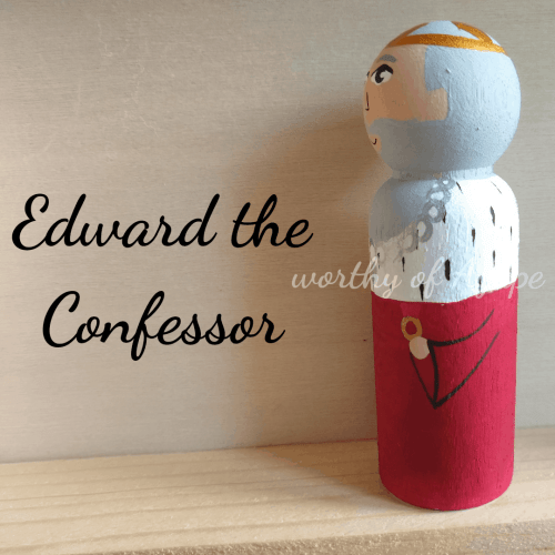 Edward the Confessor ring side new