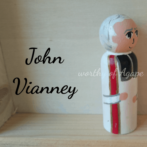 John Vianney side square