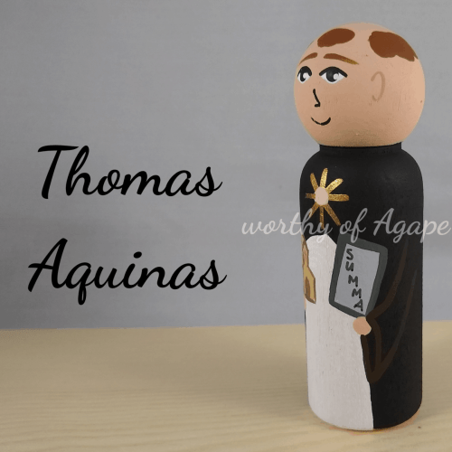 Thomas Aquinas summa side new