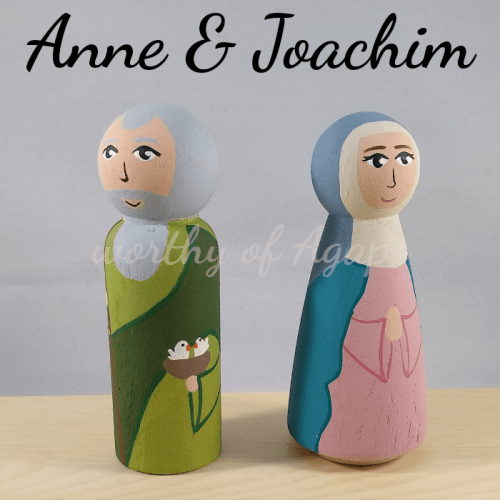Anne and Joachim back to back