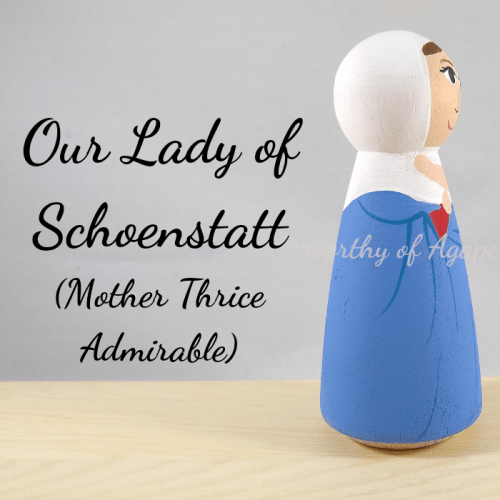 Our Lady of Schoenstatt mother thrice admirable side