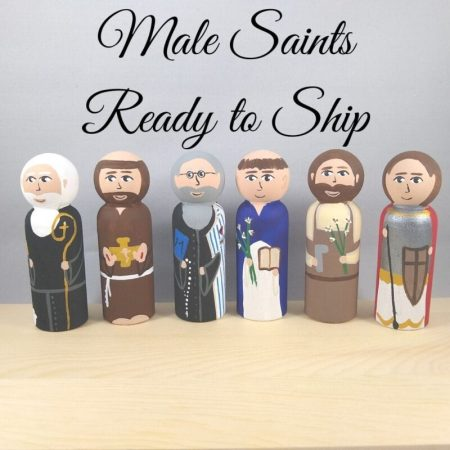 Male Saints - Ready to Ship