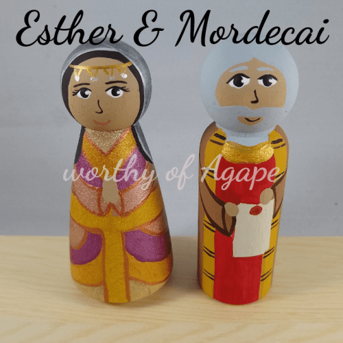 Esther and Mordecai top