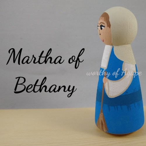 Martha of Bethany broom side new